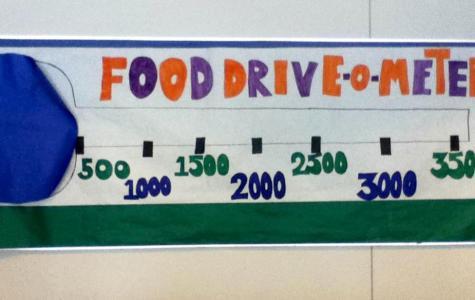 EHS Food Drive a Major Success