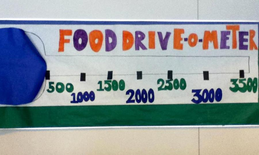 EHS+Food+Drive+a+Major+Success