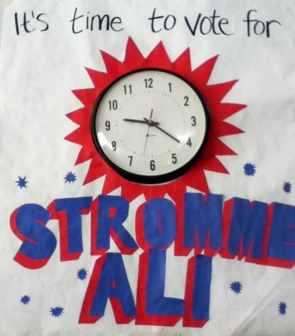 Stromme/Ali Win Presidential Race