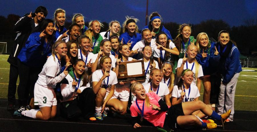 Boys' soccer done; girls on to State