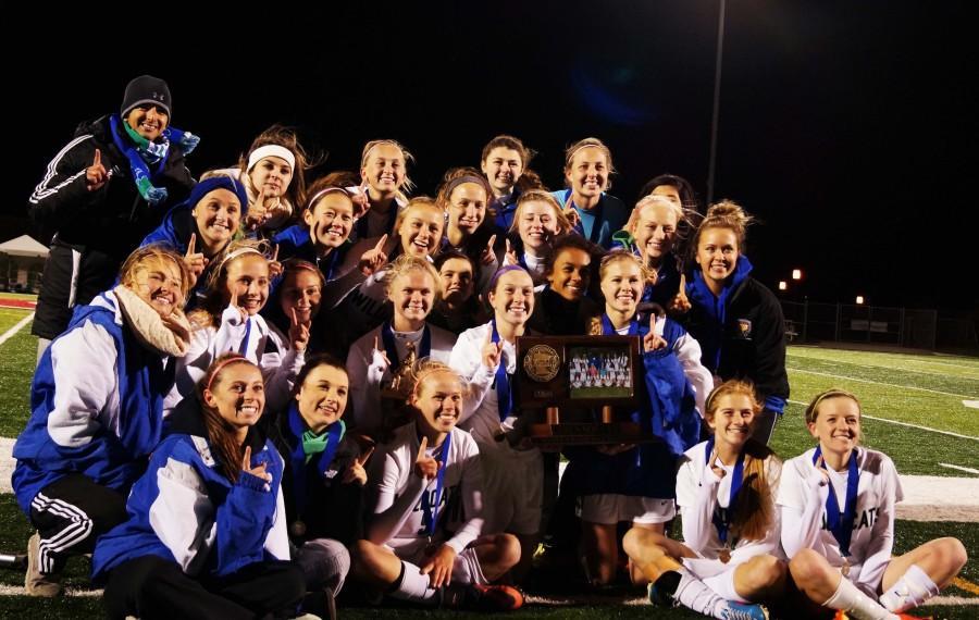 Champions: Girls' Soccer Wins It All