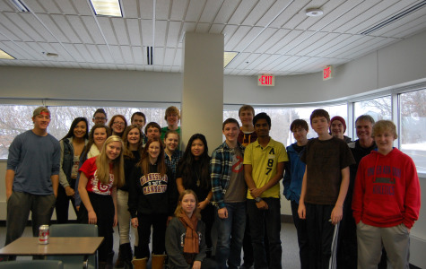 Mr. Rohr and his PAWS class.