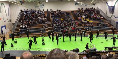 VIDEO: Eagan Drumline performs at Indoor Percussion Festival