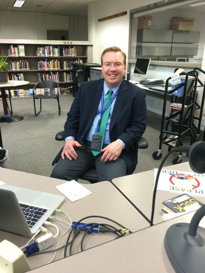Meet Mr. Eichele, the New Librarian