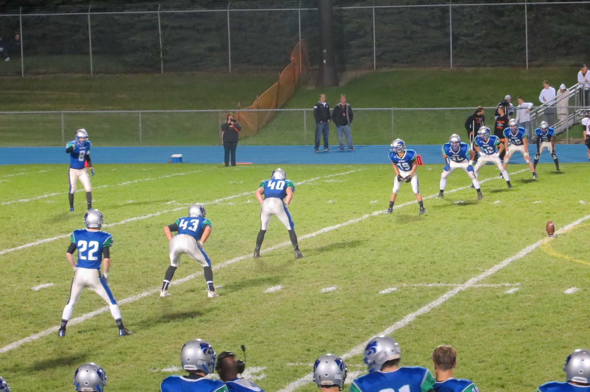 Lincoln Brown preparing his kick
