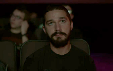 Shia LeBeouf Watches His Movies