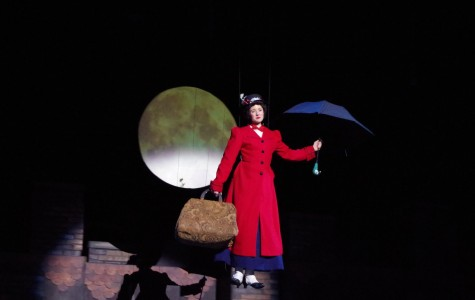 Mary Poppins Floats In