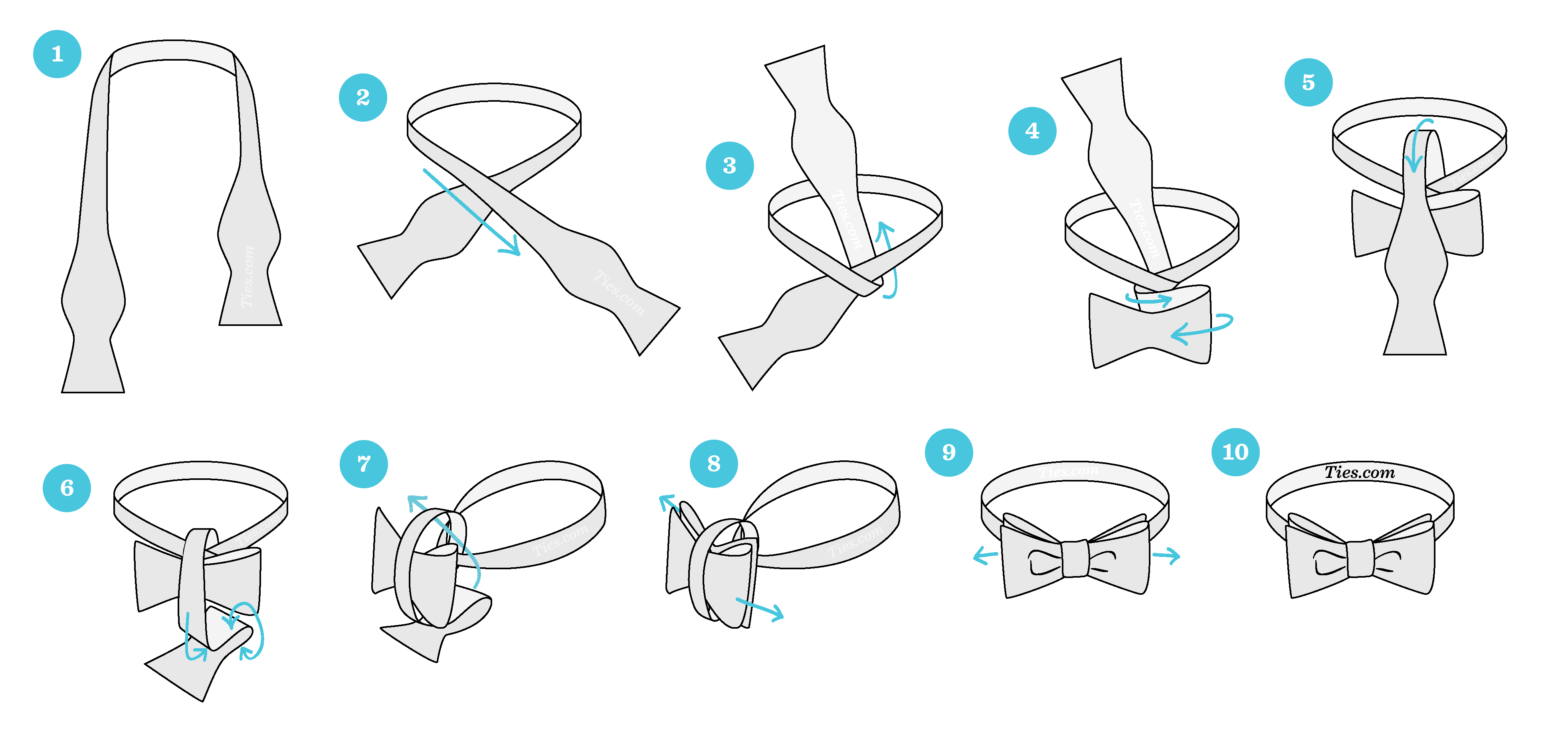 bow tie instructions pdf