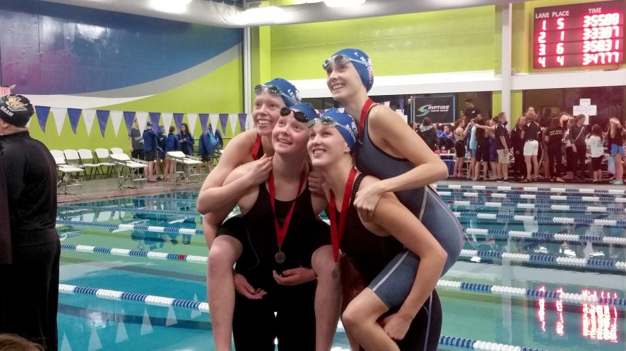 2016 Girls Swim & Dive Recap