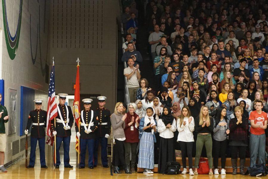 2016 Veterans Day Assembly