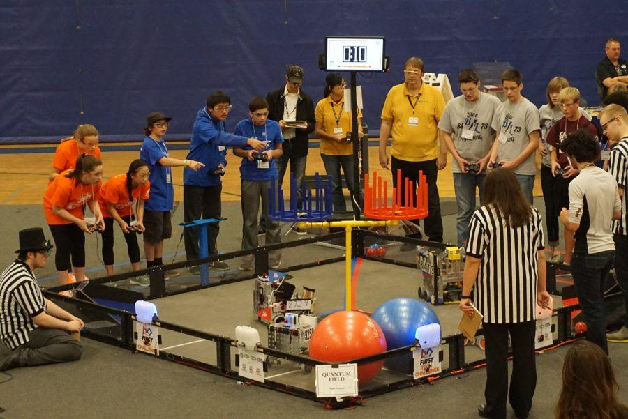 Eagan Robotics Competes at Season Qualifier