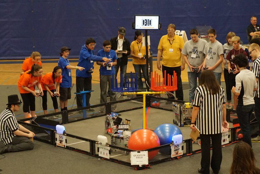Eagan Robotics Competes at Season Qualifier