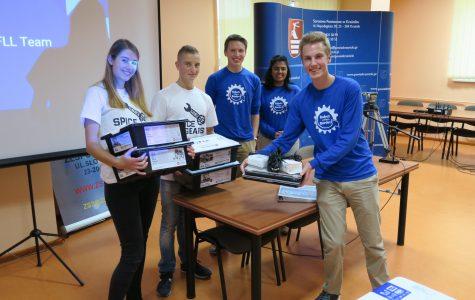 Robotics Team Travels to Poland