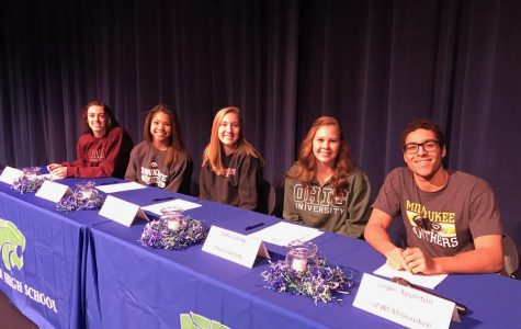 Eagan Athletes Sign National Letters of Intent