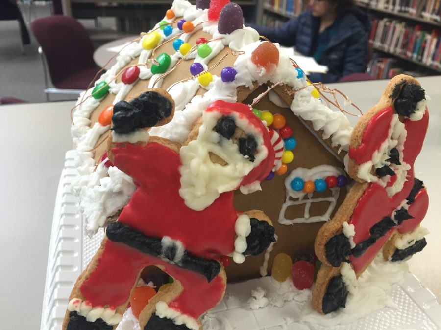 Library Holds Gingerbread House and Coloring Contests