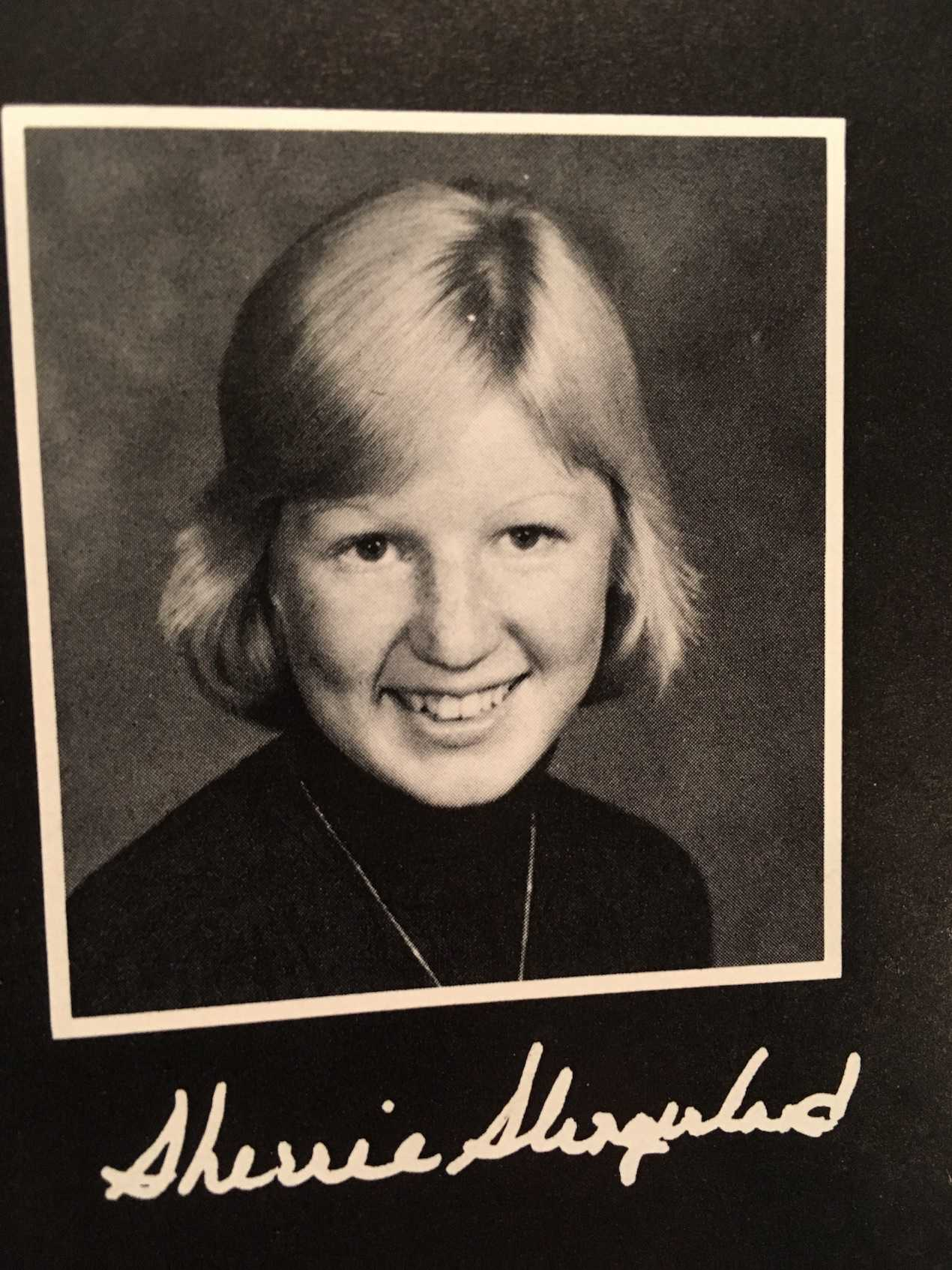 Mrs. Blundell's senior picture
