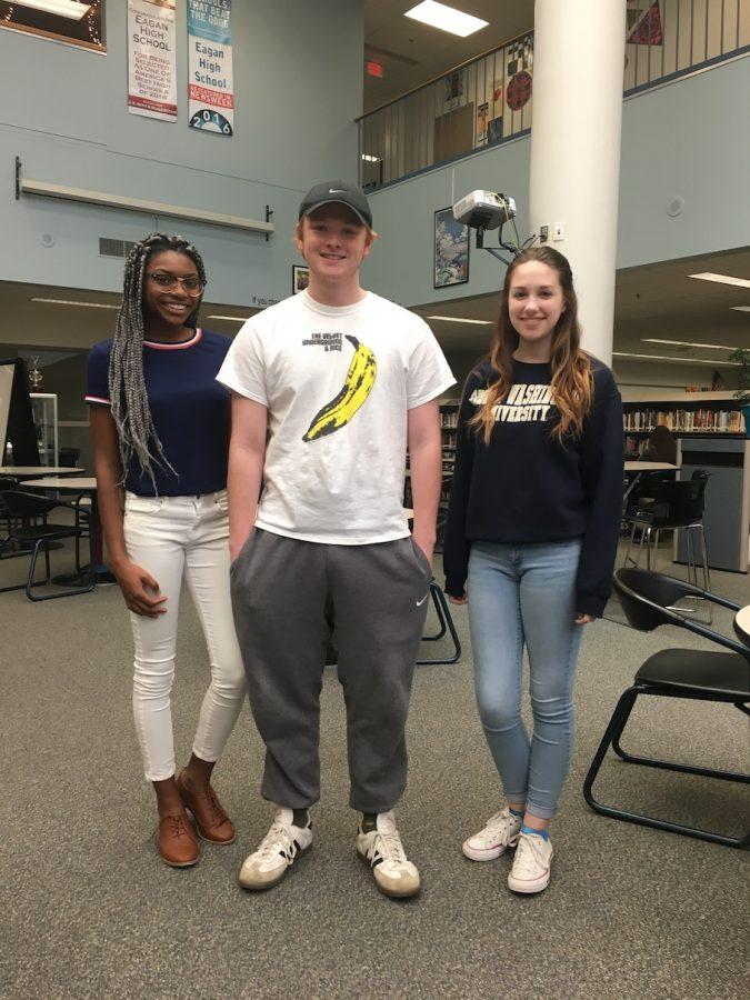 Nautica Flowers, Josh Drucker, and Annika Scott