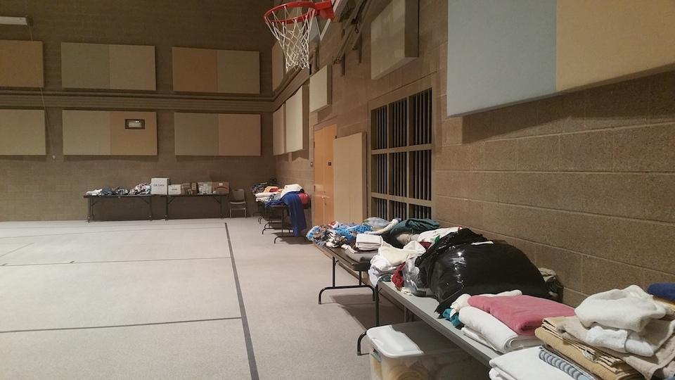 Items collected at Easter Lutheran Church
