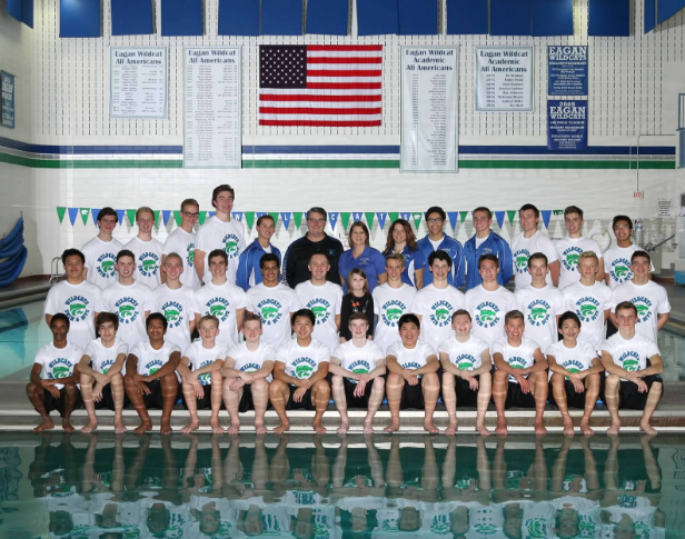The EHS 2016-2017 Boys' Swim and Dive team