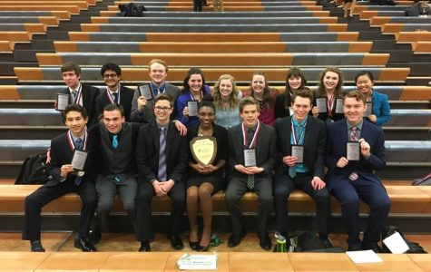 Speech Team Competes at National Qualifier Tournament