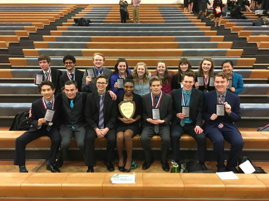 FRONT: Jason Scheller, Aaron Lutz, Gregory Quick, Nautica Flowers, Josh Groven, Jack Bechard, Paul Filonowich  BACK: Ben Pankow, Raj Purohit, Joshua Drucker, Jenna Herbrand, Rachel Standal, Linnea Stanton, Elsie Goren, Emily Albert-Stauning, Tram Nguyen
