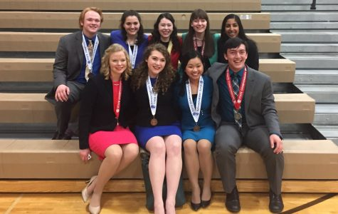 Speech Team Competes At State Tournament