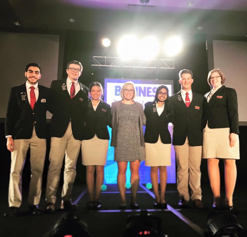 The state officer team is led by Subha Ravichandran, the MN BPA State President. Here they are before the opening ceremony on Thursday, March 23rd.