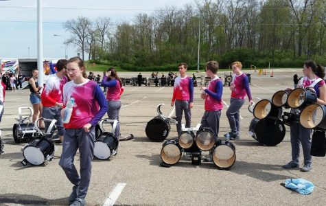 Drumline Travels to Ohio