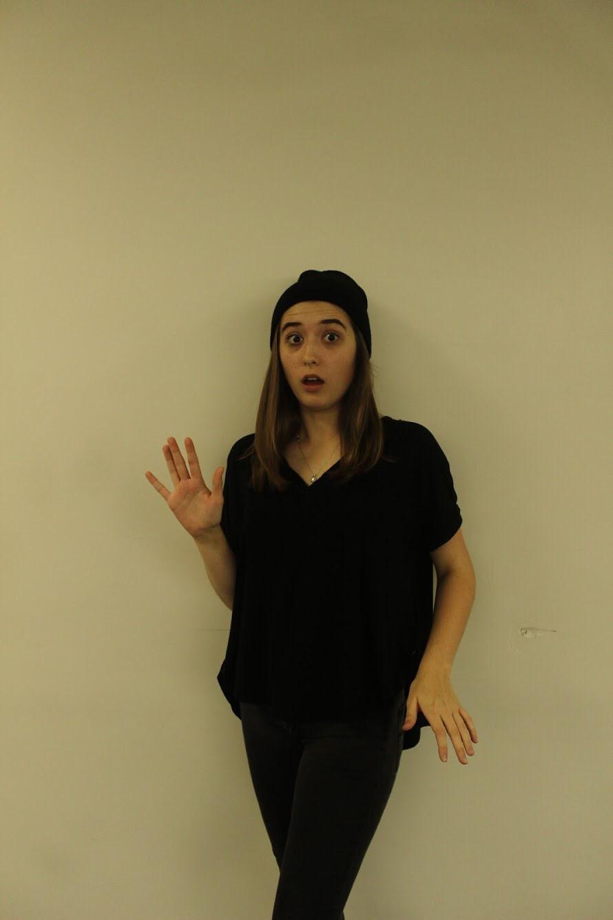 Audrey Blakley as a Burglar