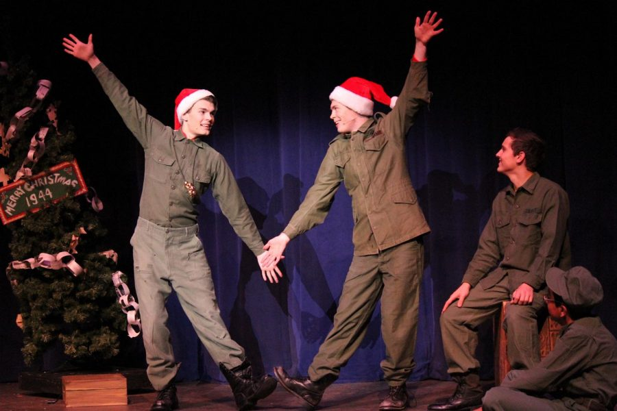 White Christmas Hits Eagan's Stage