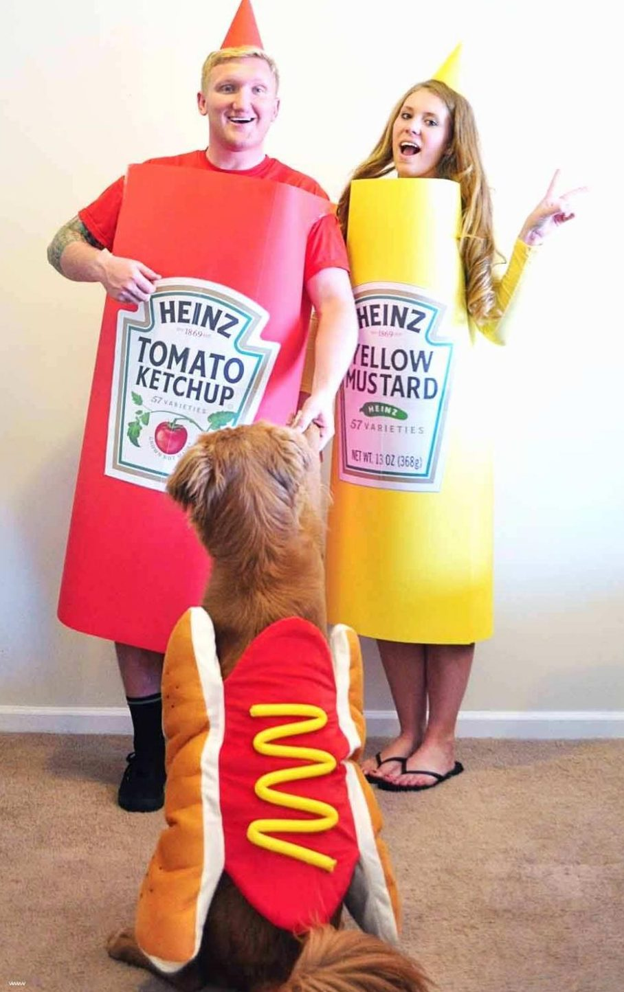 Ketchup, Mustard, and Hot Dog