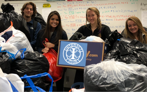 Interact Club's fifth annual coat drive