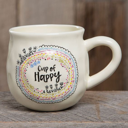 Cute quotes make mugs a versatile gift.