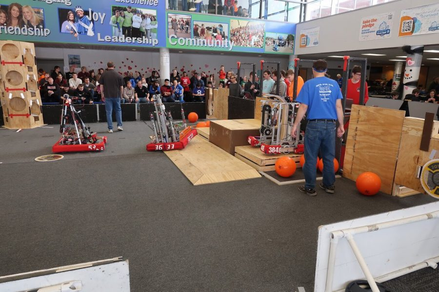 "FRC Robotics Team hosts ""Week Zero"""