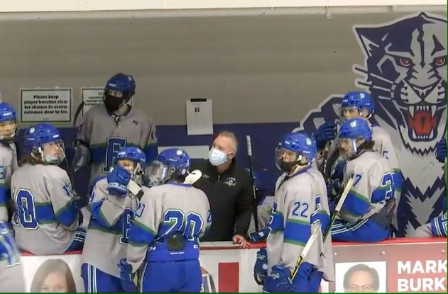 Coach Carlson: behind the mask
