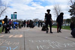 EHS students organize and lead Daunte Wright memorial
